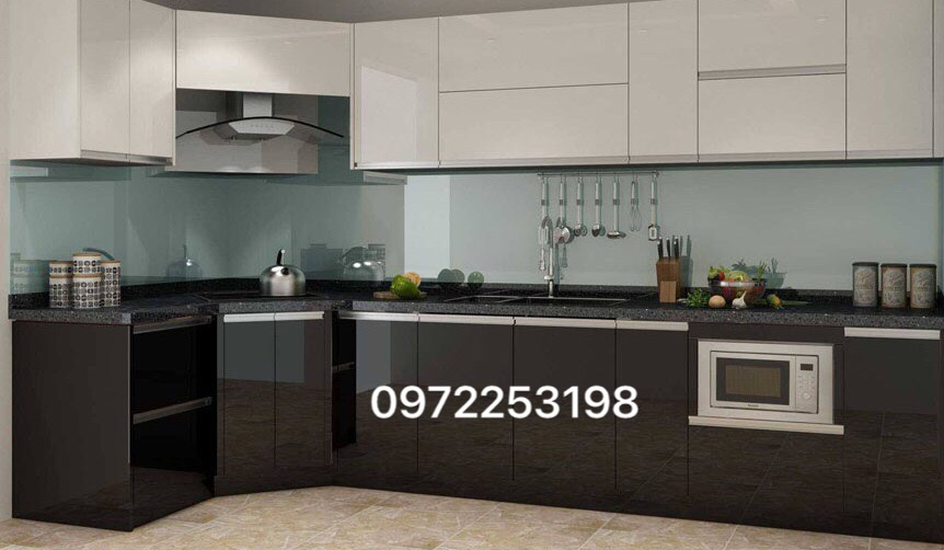 Tủ bếp Acrylic AR12