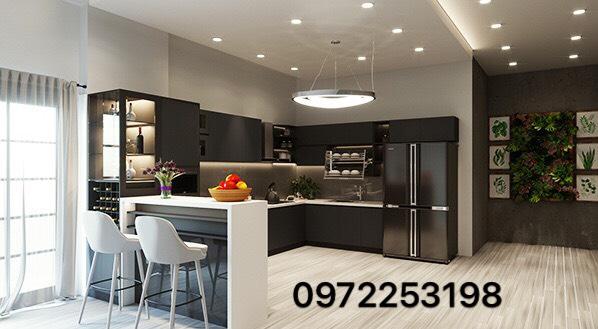 Tủ bếp Acrylic AR10