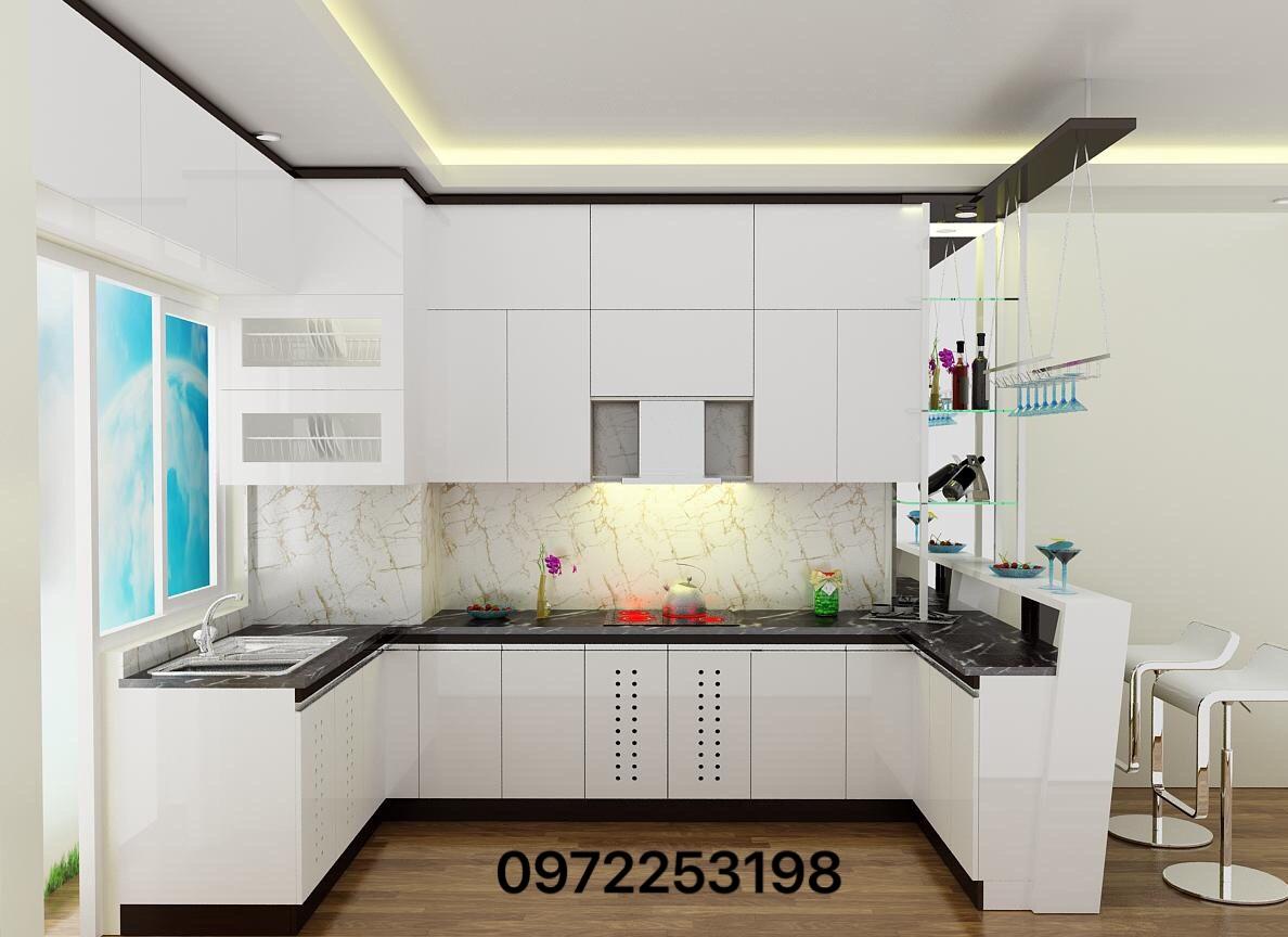 Tủ bếp Laminate 6