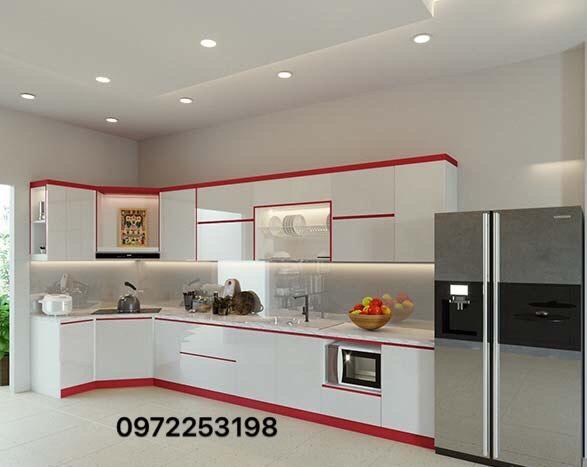 Tủ bếp Acrylic AR14