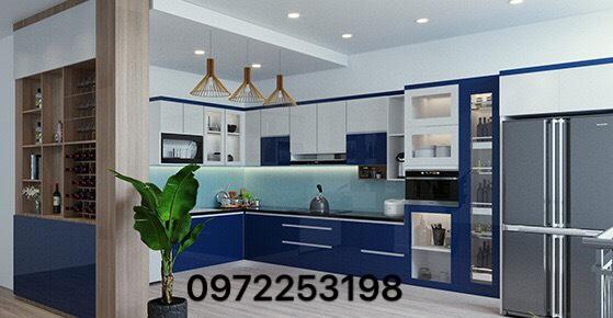 Tủ bếp Acrylic AR11