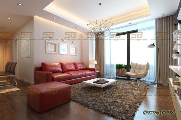 Dự Án Thiết kế Thi công nội thất chung cư cao cấp nhà chị Lan- KĐT Mỹ Đình 2