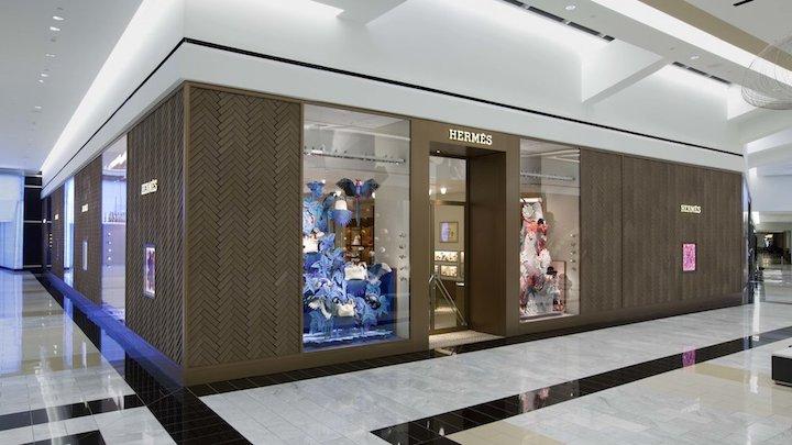Dự Án Thi Công Nội Thất Showroom Hermès